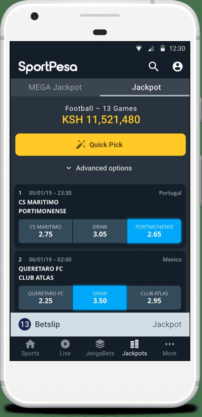 Sports Betting App :: SportPesa Kenya