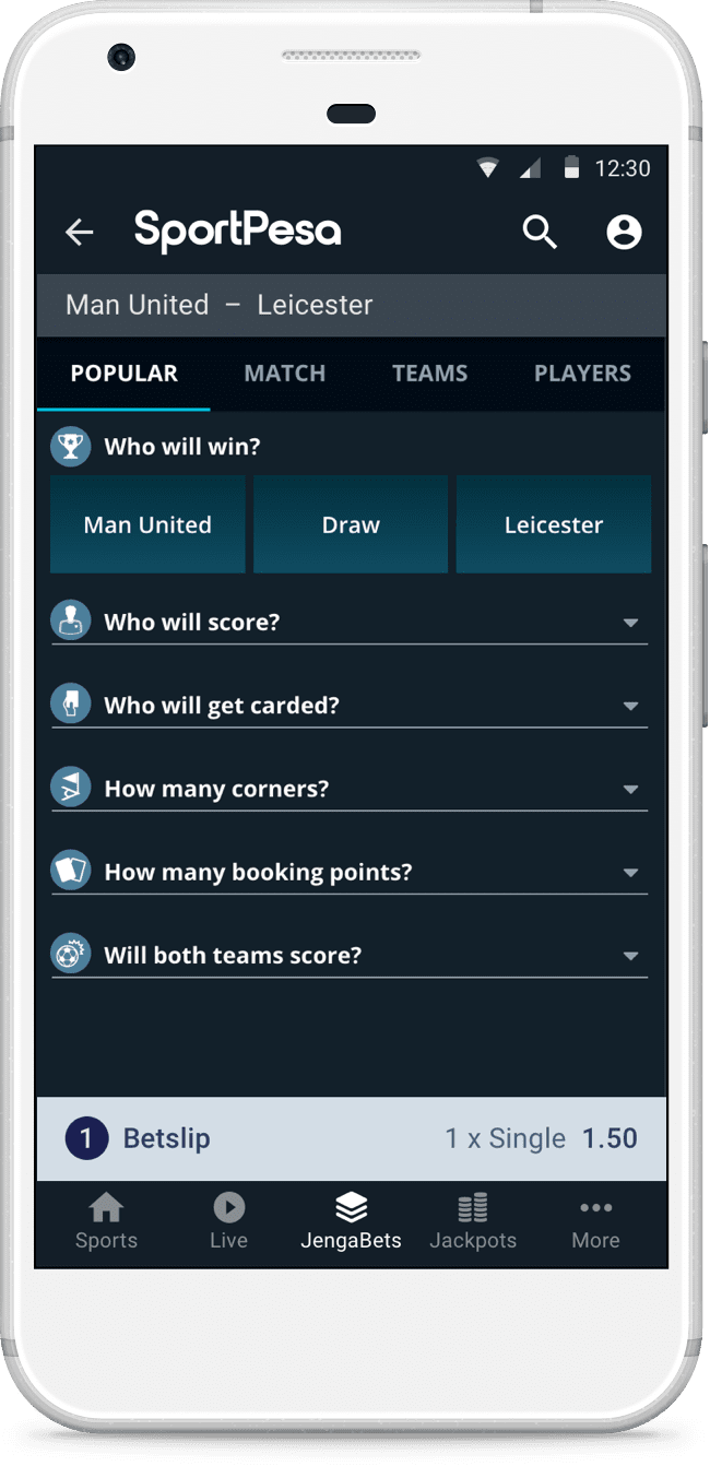 Sports Betting App :: SportPesa Kenya